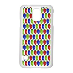 Colorful Shiny Eat Edible Food Samsung Galaxy S5 Case (white) by Nexatart