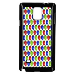 Colorful Shiny Eat Edible Food Samsung Galaxy Note 4 Case (black)