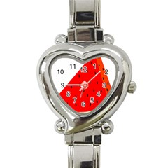 Fruit Harvest Slice Summer Heart Italian Charm Watch