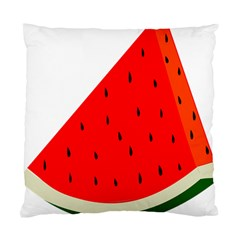 Fruit Harvest Slice Summer Standard Cushion Case (two Sides) by Nexatart