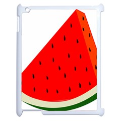 Fruit Harvest Slice Summer Apple Ipad 2 Case (white) by Nexatart
