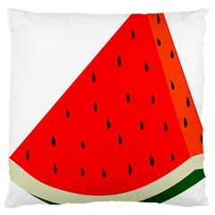 Fruit Harvest Slice Summer Large Cushion Case (one Side)