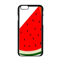 Fruit Harvest Slice Summer Apple Iphone 6/6s Black Enamel Case