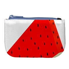 Fruit Harvest Slice Summer Large Coin Purse
