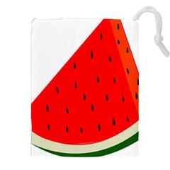 Fruit Harvest Slice Summer Drawstring Pouches (xxl)