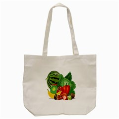 Fruits Vegetables Artichoke Banana Tote Bag (cream)