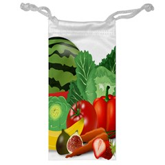 Fruits Vegetables Artichoke Banana Jewelry Bag