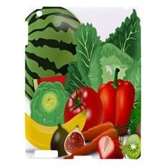 Fruits Vegetables Artichoke Banana Apple Ipad 3/4 Hardshell Case