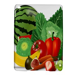Fruits Vegetables Artichoke Banana Ipad Air 2 Hardshell Cases by Nexatart