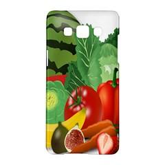 Fruits Vegetables Artichoke Banana Samsung Galaxy A5 Hardshell Case
