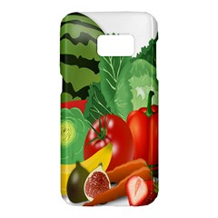 Fruits Vegetables Artichoke Banana Samsung Galaxy S7 Hardshell Case