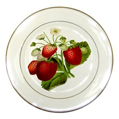 Food Fruit Leaf Leafy Leaves Porcelain Plates by Nexatart