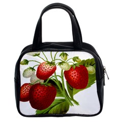 Food Fruit Leaf Leafy Leaves Classic Handbags (2 Sides)