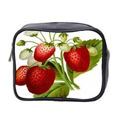 Food Fruit Leaf Leafy Leaves Mini Toiletries Bag 2 Side