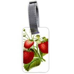 Food Fruit Leaf Leafy Leaves Luggage Tags (one Side)