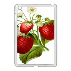 Food Fruit Leaf Leafy Leaves Apple Ipad Mini Case (white) by Nexatart