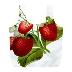Food Fruit Leaf Leafy Leaves Full Print Recycle Bags (l)