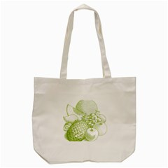 Fruits Vintage Food Healthy Retro Tote Bag (cream) by Nexatart
