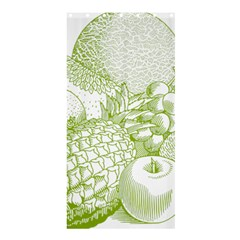 Fruits Vintage Food Healthy Retro Shower Curtain 36  X 72  (stall)  by Nexatart