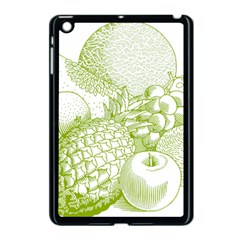 Fruits Vintage Food Healthy Retro Apple Ipad Mini Case (black)