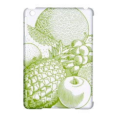 Fruits Vintage Food Healthy Retro Apple Ipad Mini Hardshell Case (compatible With Smart Cover) by Nexatart
