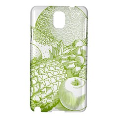 Fruits Vintage Food Healthy Retro Samsung Galaxy Note 3 N9005 Hardshell Case by Nexatart