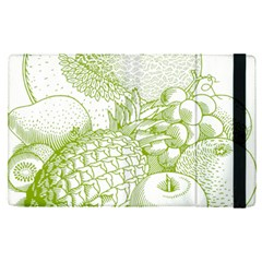 Fruits Vintage Food Healthy Retro Apple Ipad Pro 12 9   Flip Case