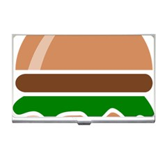 Hamburger Fast Food A Sandwich Business Card Holders