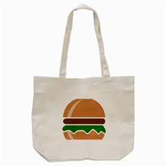 Hamburger Fast Food A Sandwich Tote Bag (cream)