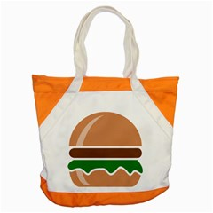 Hamburger Fast Food A Sandwich Accent Tote Bag by Nexatart
