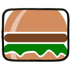 Hamburger Fast Food A Sandwich Netbook Case (large) by Nexatart