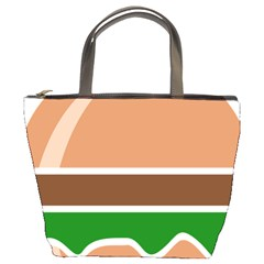 Hamburger Fast Food A Sandwich Bucket Bags by Nexatart