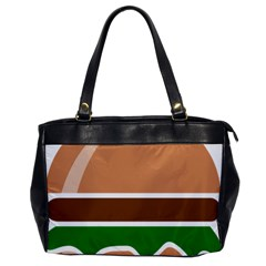 Hamburger Fast Food A Sandwich Office Handbags