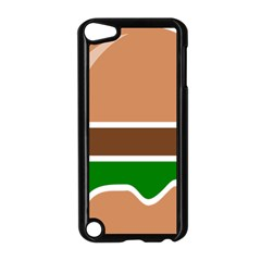 Hamburger Fast Food A Sandwich Apple Ipod Touch 5 Case (black)