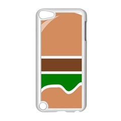 Hamburger Fast Food A Sandwich Apple Ipod Touch 5 Case (white)