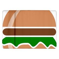 Hamburger Fast Food A Sandwich Samsung Galaxy Tab 10 1  P7500 Flip Case by Nexatart