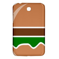 Hamburger Fast Food A Sandwich Samsung Galaxy Tab 3 (7 ) P3200 Hardshell Case  by Nexatart