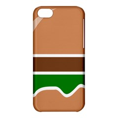 Hamburger Fast Food A Sandwich Apple Iphone 5c Hardshell Case