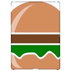 Hamburger Fast Food A Sandwich Apple Ipad Pro 12 9   Hardshell Case by Nexatart