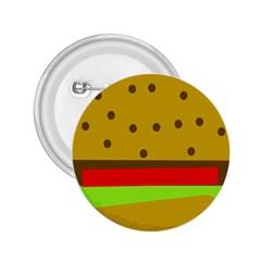 Hamburger Food Fast Food Burger 2 25  Buttons