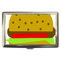 Hamburger Food Fast Food Burger Cigarette Money Cases by Nexatart