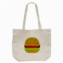 Hamburger Food Fast Food Burger Tote Bag (cream)
