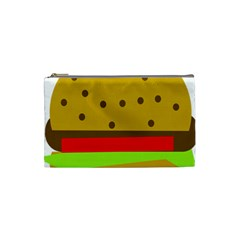 Hamburger Food Fast Food Burger Cosmetic Bag (small)  by Nexatart