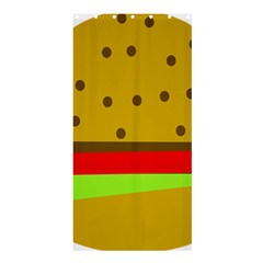 Hamburger Food Fast Food Burger Shower Curtain 36  X 72  (stall)