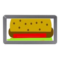 Hamburger Food Fast Food Burger Memory Card Reader (mini) by Nexatart
