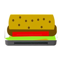 Hamburger Food Fast Food Burger Memory Card Reader With Cf