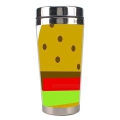Hamburger Food Fast Food Burger Stainless Steel Travel Tumblers by Nexatart