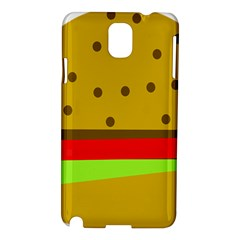 Hamburger Food Fast Food Burger Samsung Galaxy Note 3 N9005 Hardshell Case