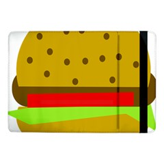 Hamburger Food Fast Food Burger Samsung Galaxy Tab Pro 10 1  Flip Case