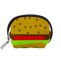 Hamburger Food Fast Food Burger Accessory Pouches (small)